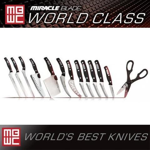 Set Coltelli Miracle Blade World Class da 19 pezzi